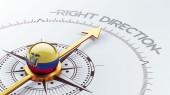 Ecuador Compass Concept — Stok fotoğraf