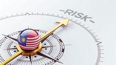 Malaysia Risk Concept — Stok fotoğraf