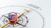 Malaysia Risk Concept — Stockfoto