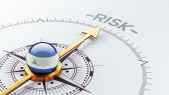 Nicaragua Risk Concept — Stok fotoğraf