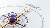 Iceland Risk Concept — Stock Photo