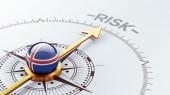 Iceland Risk Concept — Stockfoto