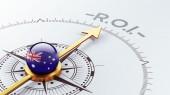 Australia ROI Concept — Stock Photo