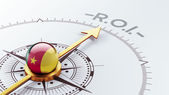 Cameroon Compass Concept — Stock Photo