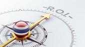 Thailand ROI Concept — Stockfoto