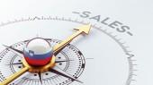 Slovenia Sale Concept — Stock Photo