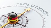 Germany Solution Concept — Stock Photo