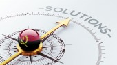 Angola Solution Concept — Stockfoto