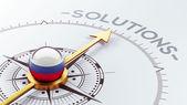 Russia Solution Concept — Stock Photo