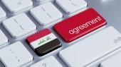 Iraq Agreement Concept — Zdjęcie stockowe