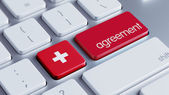Switzerland Agreement Concept — Zdjęcie stockowe