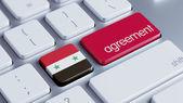Syria Agreement Concept — Zdjęcie stockowe