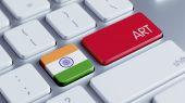 India Art Concept — Zdjęcie stockowe