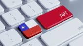 Chile Art Concept — Stockfoto