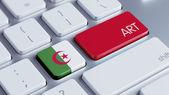 Algeria Art Concept — Zdjęcie stockowe