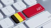 Belgium Art Concept — Zdjęcie stockowe