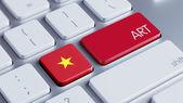 Vietnam Art Concept — Zdjęcie stockowe
