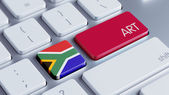 South Africa Art Concept — Zdjęcie stockowe