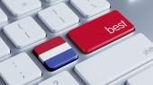 Netherlands Best Concept — Stock Photo