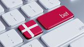Denmark Bet Concept — Stock Photo