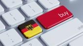 Tyskland köpa konceptet — Stockfoto