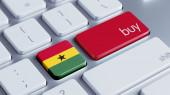 Ghana Buy Concept — Stock Photo