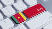 Cameroon Keyboard Concept — Foto Stock