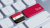 Syrien kaufen Konzept — Stockfoto