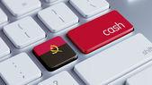 Angola Cash Concept — 图库照片