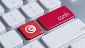 Tunisia Cash Concept — Stock Photo
