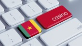 Cameroon Keyboard Concept — Stock Photo