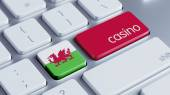 Wales Casino Concept — Stock Photo