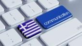 Greece  Communication Concep — Stock Photo