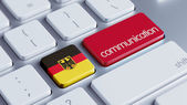 Germany  Communication Concep — Stock Photo