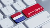 Netherlands  Communication Concep — Foto Stock