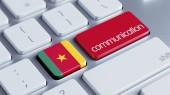 Cameroon Keyboard Concept — Foto de Stock