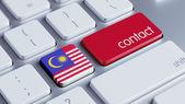 Malaysia Contact Concept — Stock Photo