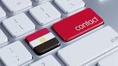 Egypt Contact Concept — Stock Photo