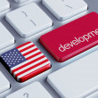 United States Development Concept — Stock Photo #55198143