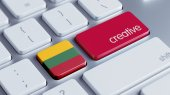 Lithuania Creative Concept — Stock Photo