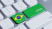 Concep crise Brésil — Photo