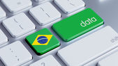 Brazil Data Concept — Stock Photo