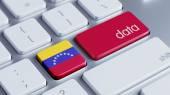 Venezuela Data Concept — Stock Photo