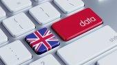 United Kingdom Data Concept — Stock Photo
