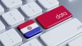 Paraguay Data Concept — Stock Photo