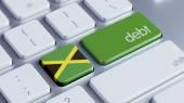 Jamaica Debt Concept — Stock Photo