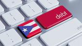 Puerto Rico Debt Concept — Stock Photo