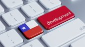 Chile Development Concept — Stock Photo