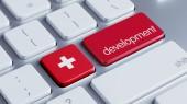 Switzerland Development Concept — Stock Photo