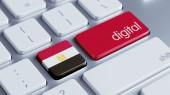 Egypt Digital Concept — Stock Photo